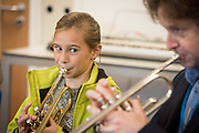 Deal Festival of Music & the Arts: 1st Creative Jazz Weekend at the Goodwin Academy in Deal. Fantastic mentoring, leadership and creativity by an inspiring team, and the wonderful support and phenomenal skill of National Youth Jazz Orchestra, working with the Festival team to transform jazz in East Kent. © Tony Nandi 2017