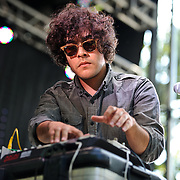 COlUMBIA, MD - SEPTEMBER 25th, 2010:  Neon Indian perform at the 2010 Virgin Mobile FreeFest at Merriweather Post Pavilion. (Photo by Kyle Gustafson/For The Washington Post)