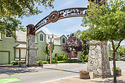 Entrance Sign to Old Town Temecula