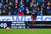 Alex Iwobi of Arsenal (17) passes the ball during the Premier League match between Huddersfield Town and Arsenal at the John Smiths Stadium, Huddersfield, England on 9 February 2019.