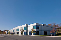 Commercial real estate photography of warehouse in Dulles, VA by Jeffrey Sauers of Commercial Photographics