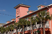 Village shopping center in the Disney created master planned community Celebration, Florida.