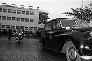 25/08/1963<br /> 08/25/1963<br /> 25 August 1963<br /> Royal Visit by Prince Rainier and Princess Grace of Monaco. The Royal family leaving  Dublin Airport withe their Garda escort..