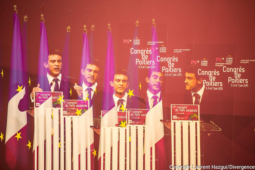 06062015. Poitiers. Congrès du Parti Socialiste.