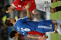 Photo: Tony Oudot.<br /> Chelsea v Manchester United. The Barclays Premiership. 09/05/2007.<br /> John Terry of Chelsea shakes hands with John O'Shea of Man Utd before the game