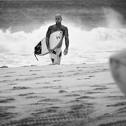Pro surfer, Matt Archbold on the North Shore.