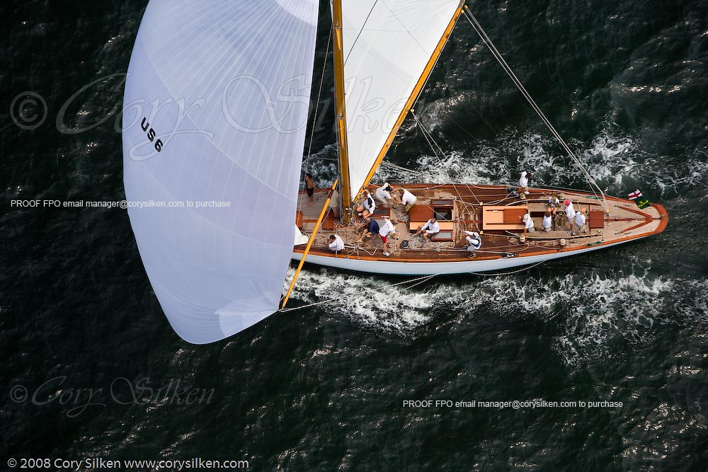 Onawa racing at the New York Yacht Club Race Week.