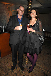 WILLIE STIRLING and THOMASINA MIERS at a reception to Discover Wilton's Music Hall held at the hall in Graces Alley, London E1 on 5th December 2007.<br /><br />NON EXCLUSIVE - WORLD RIGHTS