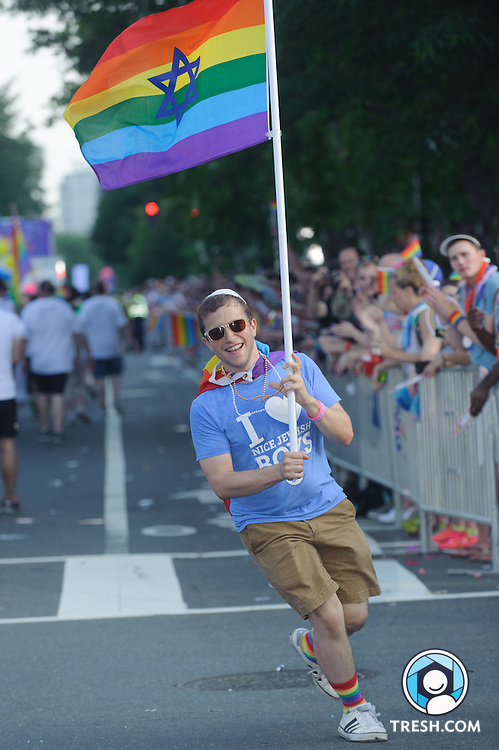 Images from the Capital Pride Parade, Washington, D.C., Saturday, June 13, 2015.