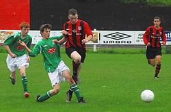 Westport United  V  Claremorris Westport won 4-0 and won the league...Pic Conor McKeown