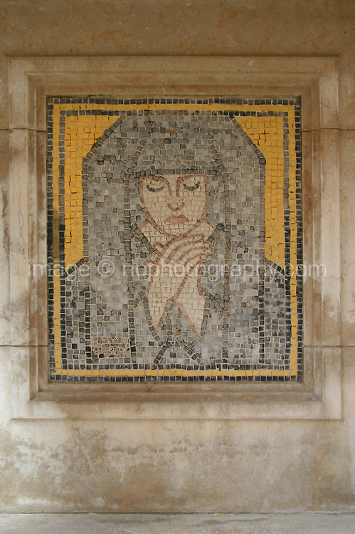 Mosaic in Roquebrune Village  South of France