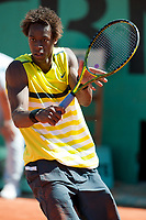 Paris,France gael monfils in grand slam french international tennis open of roland garros 2009 from may 22 to 5 th june