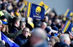 Worcester Warriors fans  - Mandatory by-line: Joe Meredith/JMP - 05/03/2017 - RUGBY - Sixways Stadium - Worcester, England - Worcester Warriors v Bristol Rugby - Aviva Premiership