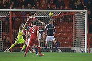 Aberdeen&rsquo;s Ryan Jack opens the scoring  - Aberdeen v Dundee in the Ladbrokes Scottish Premiership at Pittodrie, Aberdeen - Photo: David Young, <br /> <br />  - &copy; David Young - www.davidyoungphoto.co.uk - email: davidyoungphoto@gmail.com