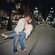 Dustin & Janelle Engagement Photo Session - New Orleans Frech Quarter & City Park- 1216 STUDIO Photography | Summer 2013