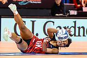 Temalisi Fakahokotau of the Tactix during the ANZ Premiership Netball match, Tactix V Magic, Horncastle Arena, Christchurch, New Zealand, 6th June 2018.Copyright photo: John Davidson / www.photosport.nz