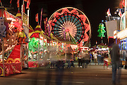 Oct 14, 2008 -- PHOENIX, AZ: People on the midway at the Arizona State Fair. The Arizona State Fair started Oct.  10 and runs through Nov. 2. Carnival and midway workers who have worked the fair for years say attendance so far is much lower than in the past and people at the fair this year aren't spending as much money as they have in the past. Photo by Jack Kurtz / ZUMA Press
