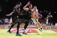 03/02/2016 NBL Adelaide 36ers vs New Zealand Breakers at the Titanium Security Arena. Photo by AllStar Photos
