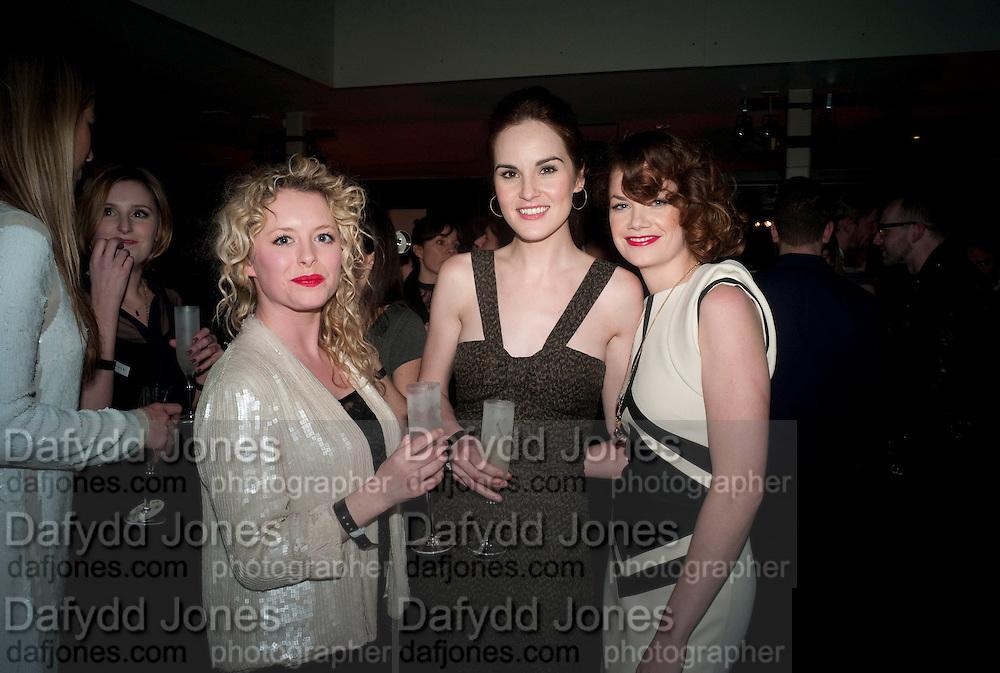 MIA VALENTINE;; MICHELLE DOCKERY; RUTH WILSON;  , , InStyle Best Of British Talent , Shoreditch House, Ebor Street, London, E1 6AW, 26 January 2011