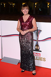 Lorraine Kelly arriving at The Millies 2016, Guildhall, London. Picture Credit Should Read: Doug Peters/EMPICS Entertainment