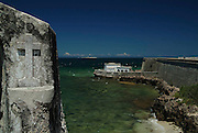 Portuguese fort of Sao Sabastiao and Chapel of Nossa Senhora de Baluarte - The oldest European building in the Southern Hemisphere. Mozambique. Ilha de Mocambique, West Africa.