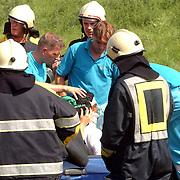 Ongeval met beknelling A27 Blaricum