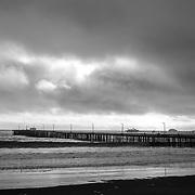 Avila Beach under a thunderstorm, California. USA.