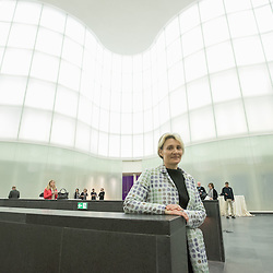 Anteprima del nuovo Museo delle Culture - MUDEC a Milano <br /> Foto Piero Cruciatti / LaPresse<br /> 26-03-2015 Milano, Italia<br /> Cultura<br /> Dottoressa M. Pugliese<br /> <br /> Preview of the new Museo delle Culture - MUDEC in Milano<br /> Photo Piero Cruciatti / LaPresse<br /> 26-03-2015 Milan, Italy<br /> Culture<br /> Filippo Del Corno, Councillor for Culture for the Municipality of Milan, attends the naming ceremony of Largo delle Culture