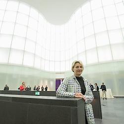 Anteprima del nuovo Museo delle Culture - MUDEC a Milano <br /> Foto Piero Cruciatti / LaPresse<br /> 26-03-2015 Milano, Italia<br /> Cultura<br /> Dottoressa M. Pugliese<br /> <br /> Preview of the new Museo delle Culture - MUDEC in Milano<br /> Photo Piero Cruciatti / LaPresse<br /> 26-03-2015 Milan, Italy<br /> Culture<br /> Filippo Del Corno, Councillor for Culture for the Municipality of Milan, attends the naming ceremony of Largo delle Culture