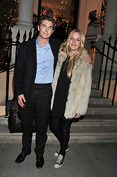 ARNAUD HAINES and FREDDIE LOVELL-PANK at a party hosted by TLC to celebrate signing their 5000th member and Ralph Lauren to celebrate the opening of the first Ralph Lauren Rugby store in the UK at 43 King Street, Covent Garden, London on 30th November 2011.