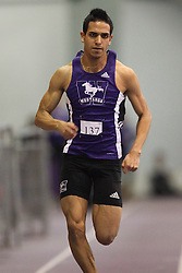 London, Ontario ---11-01-22---   Elias Granillo of the Western Mustangs competes at the 2011 Don Wright meet at the University of Western Ontario, January 22, 2011..GEOFF ROBINS/Mundo Sport Images.