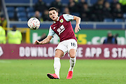 Burnley midfielder Ashley Westwood (18) during the The FA Cup match between Burnley and Norwich City at Turf Moor, Burnley, England on 25 January 2020.