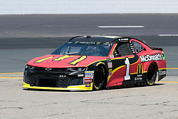 July 21, 2018 - Loudon, NH, U.S. - LOUDON, NH - JULY 21: Jamie McMurray, Monster Energy NASCAR Cup Series driver of the McDonald's Chevrolet (1), during practice for the Foxwoods Resort Casino 301 on July 21, 2018, at New Hampshire Motor Speedway in Loudon, New Hampshire. (Photo by Fred Kfoury III/Icon Sportswire) (Credit Image: © Fred Kfoury Iii/Icon SMI via ZUMA Press)