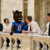 Boise State Day at the Capitol, Allison Corona photo