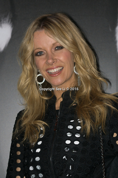 London,England,UK : 25th May 2016 : Anouska Lancaster of Noushka design attend the Marilyn Monroe: Legacy of a Legend launch at the Design Centre, Chelsea Harbour, London. Photo by See Li