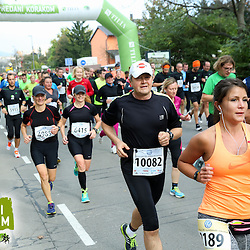 20141026: SLO, Athletics - 19th Ljubljana Marathon 2014 / Zavarovalnica Tilia - 21 in 42 km -Group 3