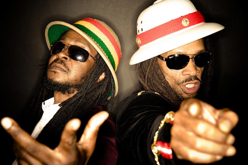 See-I: (l-r) Jah Rootz & Zeebo