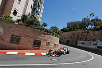 MOTORSPORT - F1 2013 - GRAND PRIX OF MONACO / GRAND PRIX DE MONACO - MONTE CARLO (MON) - 23 TO 26/05/2013 - PHOTO FRANCOIS FLAMAND / DPPI - HULKENBERG NICO (GBR) - SAUBER F1 C32 - ACTION
