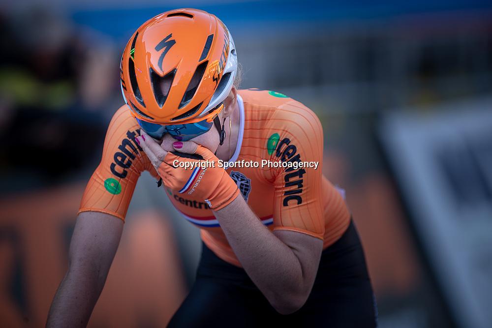 29-09-2018: WK wielrennen: Weg vrouwen: Innsbruck<br />Anna van der Breggen wereldkampioen wielrennen