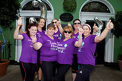 From Dungarvan, Co. Waterford: Leanne Power, Helen Higgins, Megan Higgins, Ann O'Donnell, Niamh McCarthy, Sarah Hickey and Lisa Cordery all running for Ross Power.