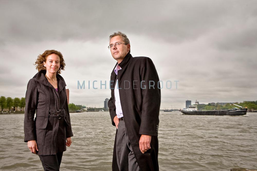 Dorien Blikman, economisch geograaf bij Decisio & Jaap Broer, economisch geograaf en partner bij Decisio.