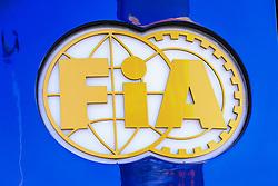 March 1, 2019 - Barcelona, Barcelona, Spain - FIA logo during the Formula 1 2019 Pre-Season Tests at Circuit de Barcelona - Catalunya in Montmelo, Spain on March 1. (Credit Image: © Xavier Bonilla/NurPhoto via ZUMA Press)