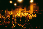 LA, New Orleans, French Quarter, Jazz band at Preservation Jazz Hall.