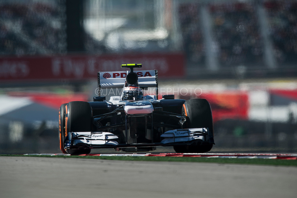 November 15- 17, 2013. Austin, Texas. United States Grand Prix 2013: Valtteri Bottas, Williams F1 Team