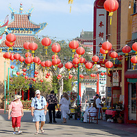 Chinatown, Los Angeles on Saturday, August 20, 2011.