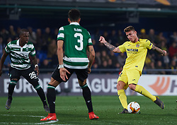 February 21, 2019 - Villarreal, Castellon, Spain - Daniel Raba of Villarreal CF during the UEFA Europa League Round of 32 Second Leg match between Villarreal and Sporting Lisboa at Estadio de La Ceramica on February 21, 2019 in Vila-real, Spain. (Credit Image: © Maria Jose Segovia/NurPhoto via ZUMA Press)