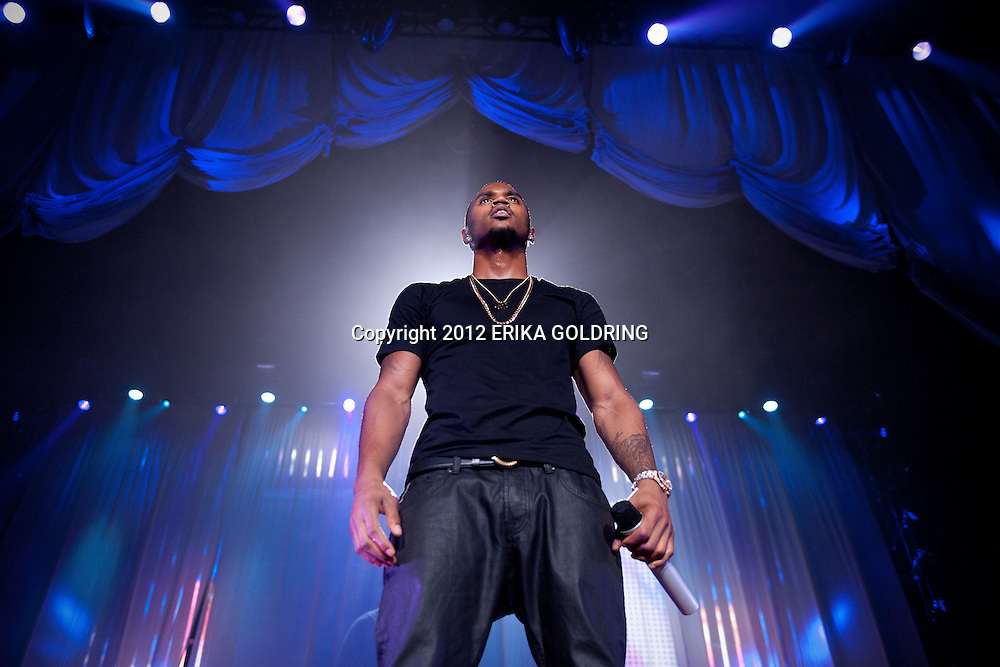 Trey Songz performs at UNO Lakefront Arena on Thursday, December 27, 2012, in New Orleans, LA.