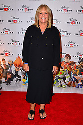 Launch of Disney's new Infinity video game.<br /> Linda Robson attends exclusive Toy Box  preview gaming event to launch Disney's new Infinity videogame Disney Infinity.  Disney Infinity is release nationwide 23rd August.  Millbank Tower<br /> London, United Kingdom<br /> Saturday, 20th July 2013<br /> Picture by Nils Jorgensen / i-Images