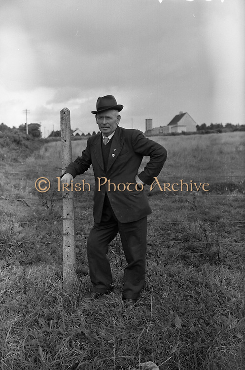 Farm Animals and People in Kanturk, Co. Cork and Castleisland, Co. Kerry. J.J. Murphy..10.09.1965