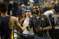 January 13, 2018 - Johnson City, Tennessee - MSHA Mini-Dome: ETSU assistant coach Hassaan Stamps<br /> <br /> Image Credit: Dakota Hamilton/ETSU